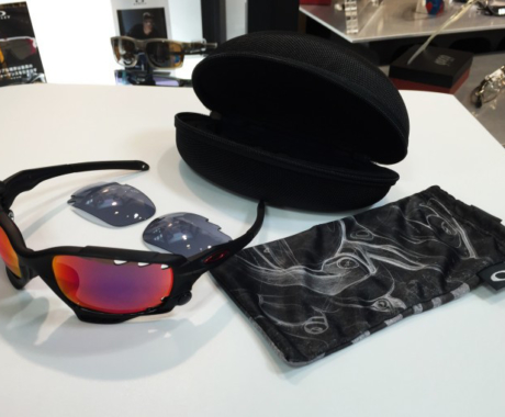 OAKLEY Racing Jacket ooRed Iridium Polarized