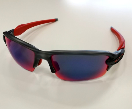 OAKLEY FLAK2.0 +RED IRIDIUM  オークリーフラック2.0