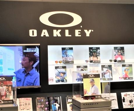 秋の展示会 Vol.1  OAKLEY TIFFANY 世界最大手 Luxottica ルックスオティカグループ
